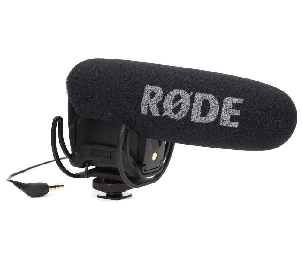 R/ØDE Camera and Audio VideoMic with Rycote Lyre Mount with Deadcat