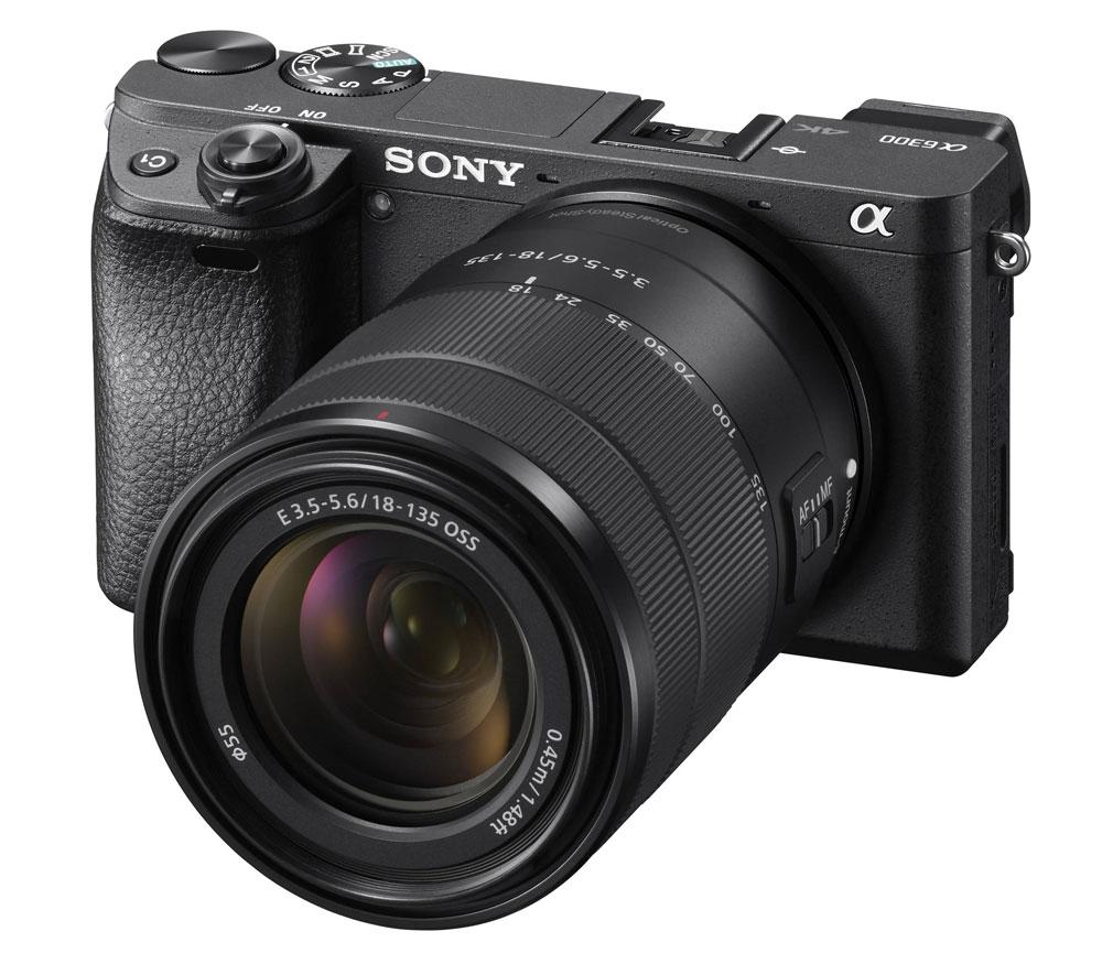 Фотоаппарат со сменной оптикой SONY Alpha a6300 Kit с 18-135mm — купить с  бесплатной доставкой в каталоге с ценами интернет-магазина Яркий фотомаркет 1a85f052c3f