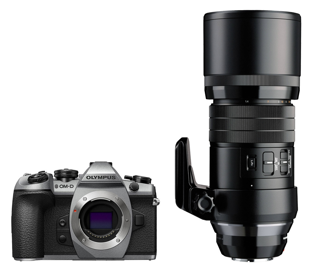 10ac0a3f0b1f Системный фотоаппарат OLYMPUS OM-D E-M1 Mark II kit ED 300mm f/4 IS ...