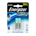 Батарейки ENERGIZER Maximum AAA, 2 шт.