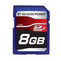 Карта памяти Silicon Power SDHC 8GB  Class 6 (SP8GBSDHC6)