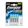 Батарейки ENERGIZER Maximum AAA (LR03), 4 шт.
