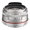 Объектив PENTAX DA 15mm f/4 ED AL HD Limited серебристый