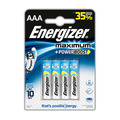 Батарейки ENERGIZER Maximum AAA, 4 шт.