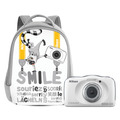 Thumb nikon w100 with backpack white