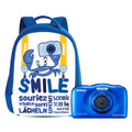 Thumb nikon w100 with backpack blue