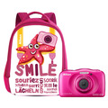Thumb nikon w100 with backpack pink