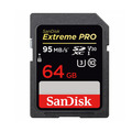Карта памяти SanDisk SDXC 64GB Extreme Pro Class 10 UHS-1 95 Mb/s (SDSDXXG-064G-GN4IN)