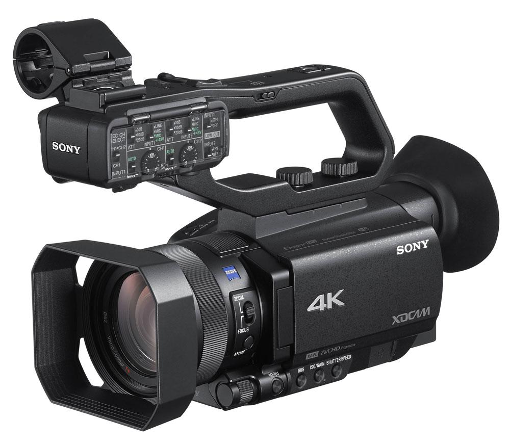Видеокамеры с функцией 4к