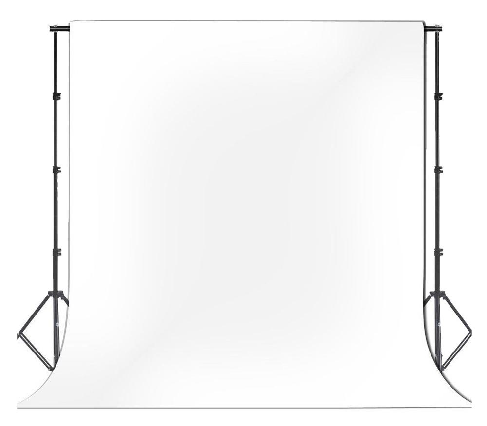 Фон FST виниловый, 1.6 х 3.4 м, белый фото