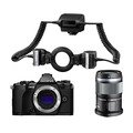 Системный фотоаппарат OLYMPUS OM-D E-M5 II Dental kit (макро), черный