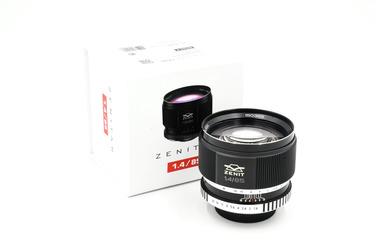 Объектив Зенит 85/1.4 Nikon F (состояние NEW) купить в наличии официального магазина по выгодной цене YARKIY.RU