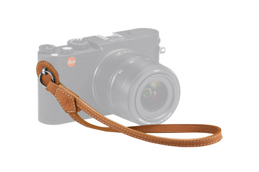 Small leica 18782 hand strap brown