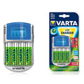 Зарядное устройство VARTA Power Line LCD Charger + 4 акк. АА 2500/2600 mAh Ready2Use