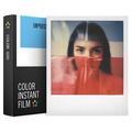 Плёнка POLAROID Impossible Color Instant Film с белой рамкой