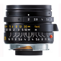 Объектив LEICA Summicron-M 28mm f/2 ASPH black