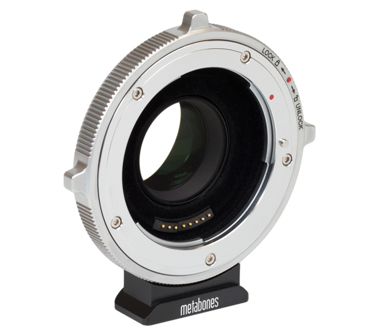 Адаптер Metabones T CINE Speed Booster XL 0.64x, Canon EF на BMPCC4K