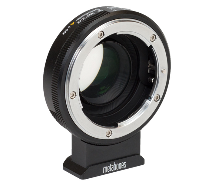 Адаптер Metabones Speed Booster XL 0.64x, Nikon G на BMPCC4K