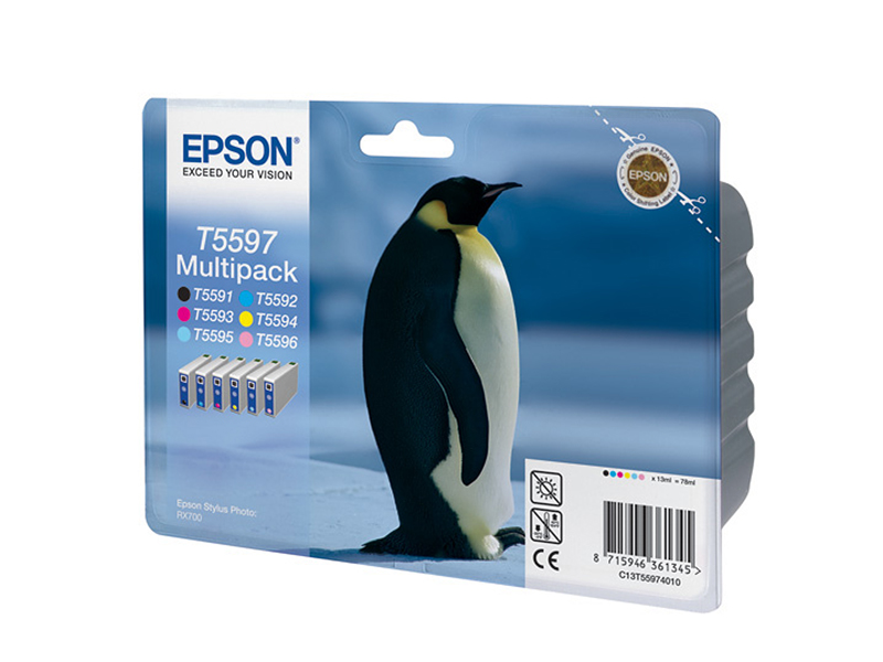 Картридж Epson Набор  T55974010 для Stylus Photo RX700