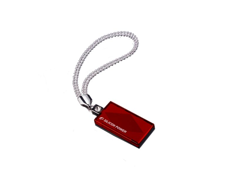 Накопитель Silicon Power USB2 Flash 4GB   Touch 810 red