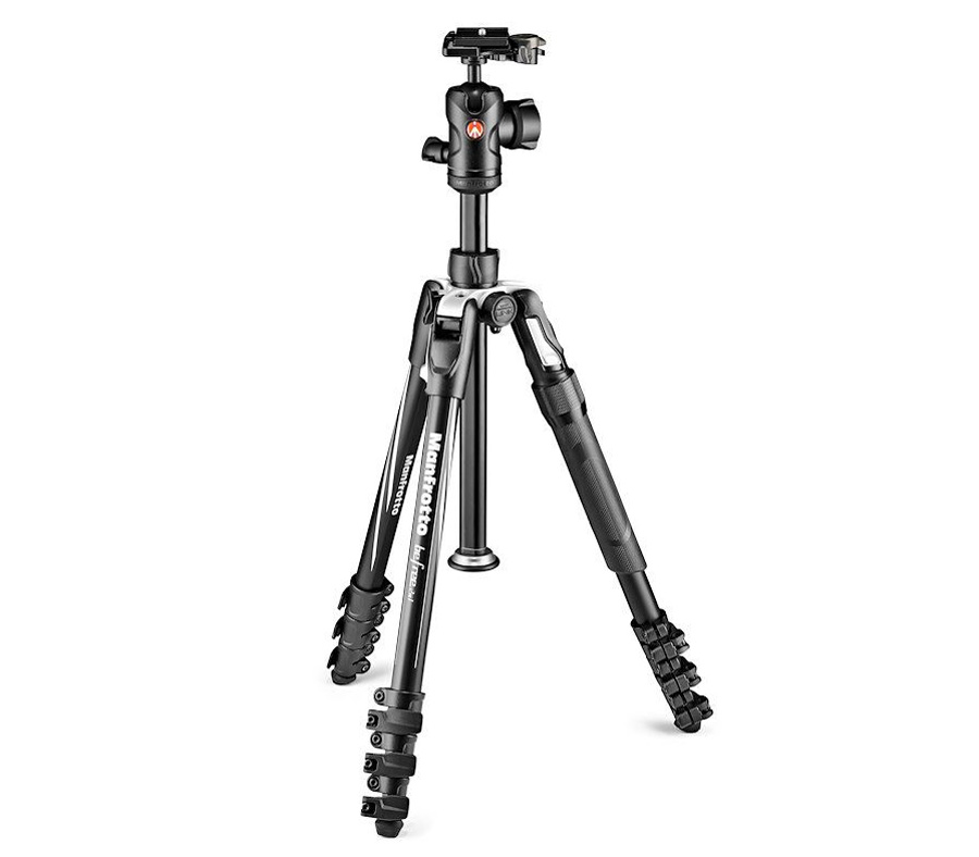 Штатив Manfrotto Befree 2N1, штатив / монопод (MKBFRLA4B-BHM)