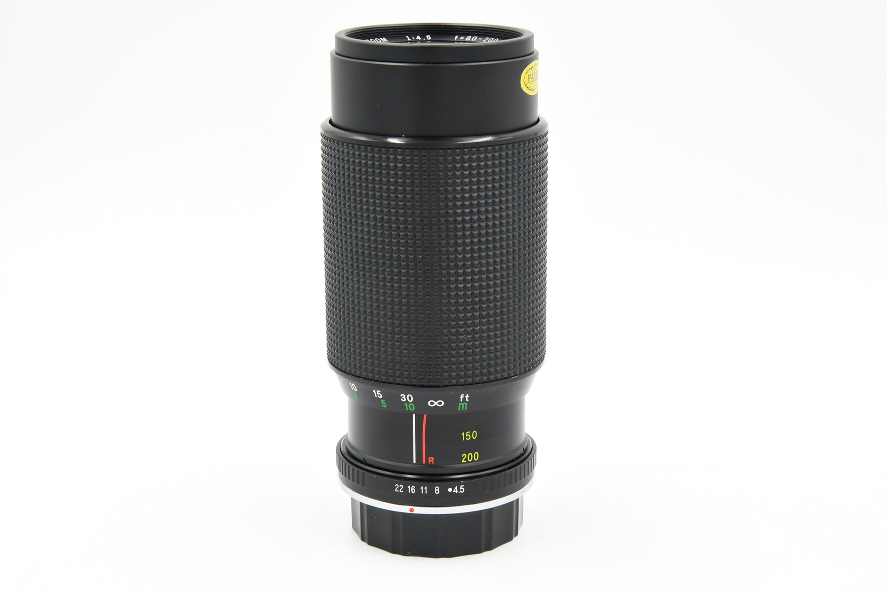 Объектив Danubia Super 80-200mm f/4.5 Macro MC for Pentax (состояние 5)