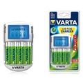 Зарядное устройство VARTA Power Line LCD Plug Charger + 4 акк. АА 2100 mAh Ready2Use