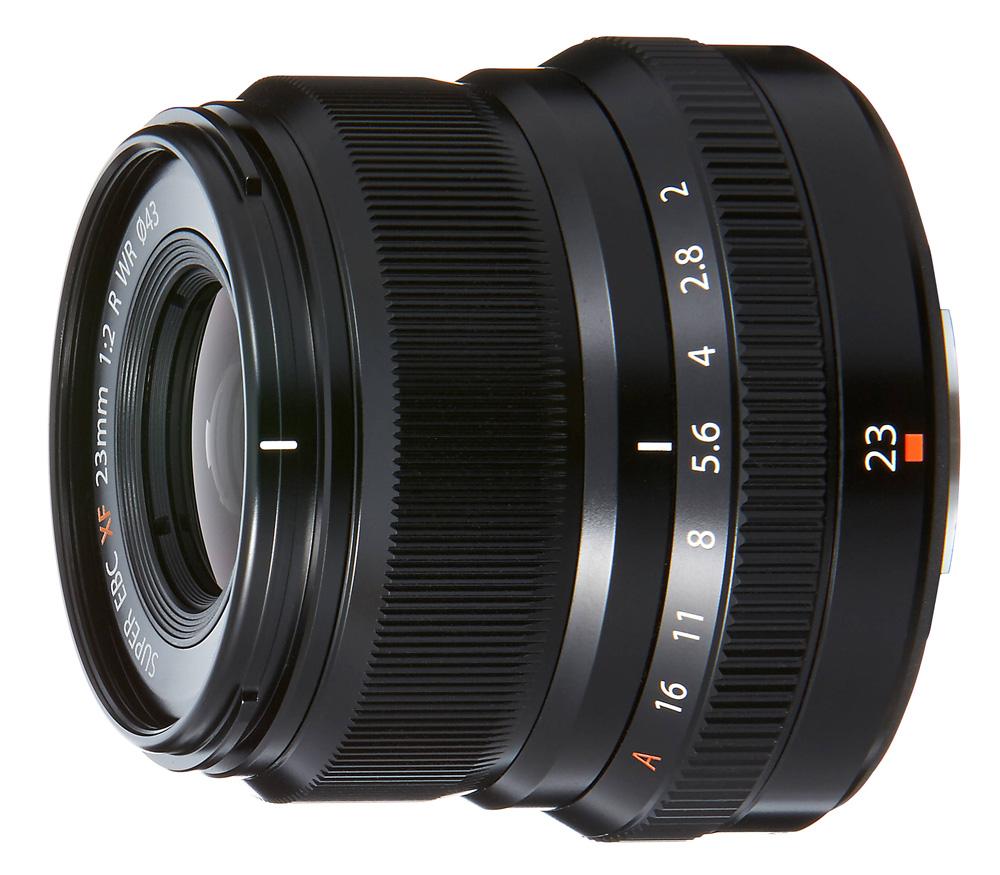 Объектив FUJIFILM XF 23mm f/2 R WR чёрный фото