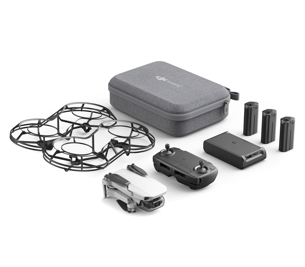 Квадрокоптер DJI Mavic Mini Fly More Combo (FCC)