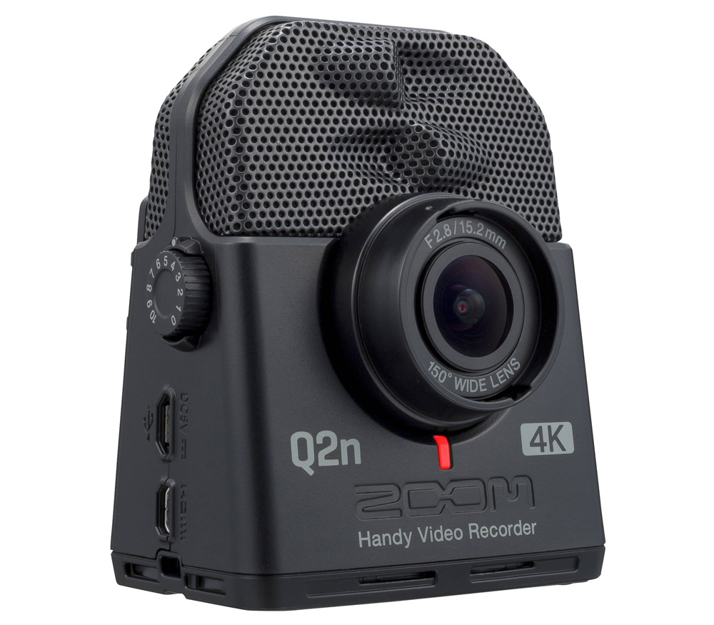 Видеокамера Zoom Q2n-4K с аудиорекордером