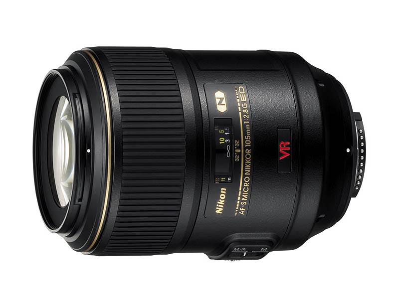 Объектив Nikon AF-S NIKKOR 105mm f/2.8G Micro VR IF-ED фото