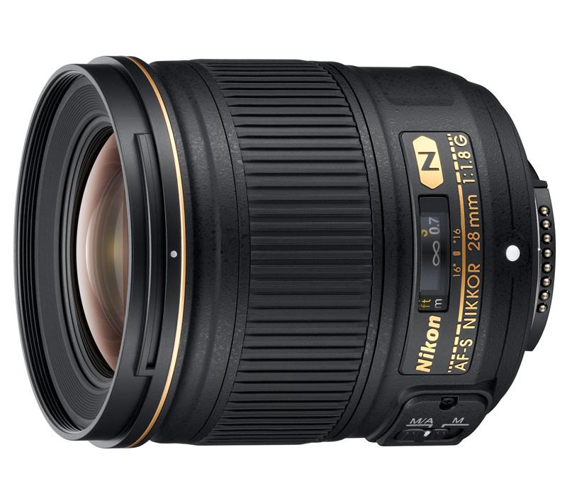 Объектив Nikon AF-S NIKKOR 28mm f/1.8G фото