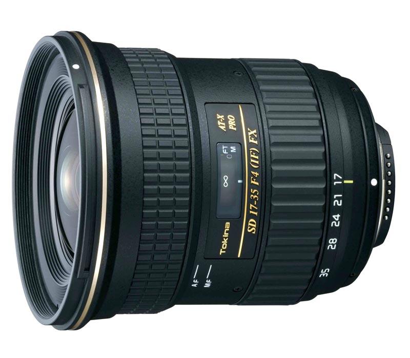 Объектив TOKINA AT-X 17-35 F4 PRO FX для Canon фото