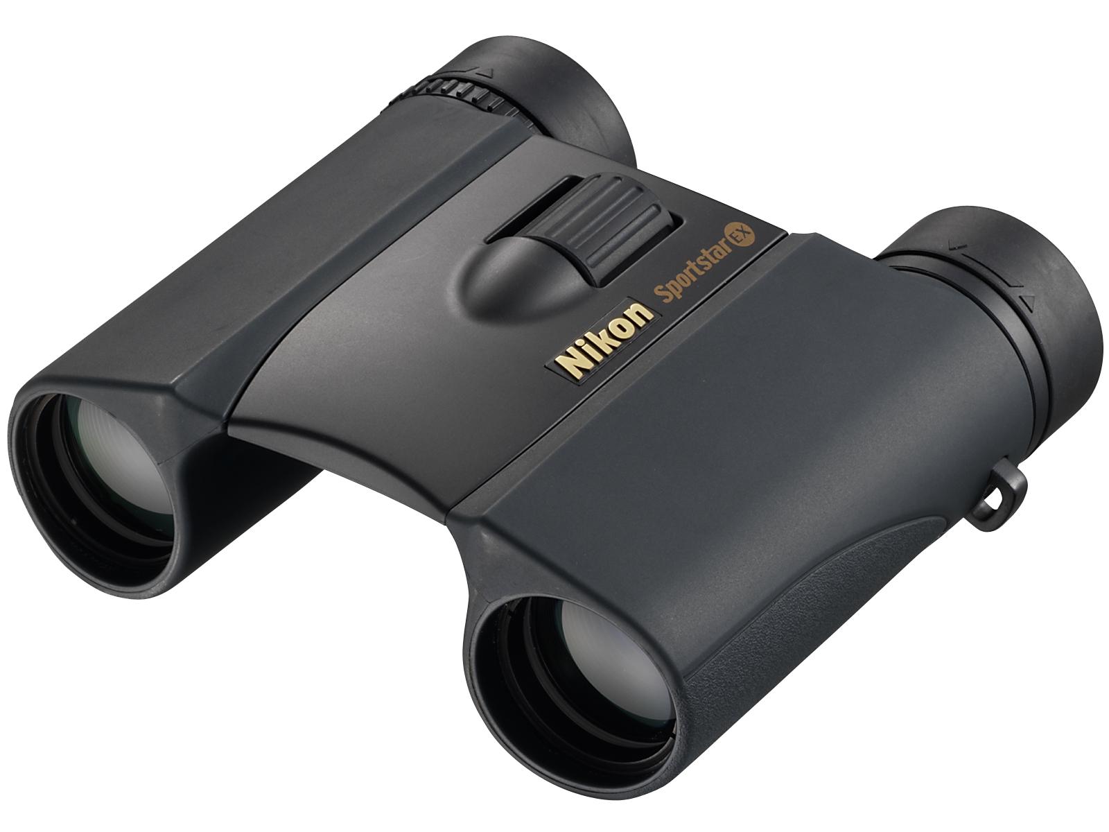 Бинокль Nikon Sportstar EX 10x25, черный фото