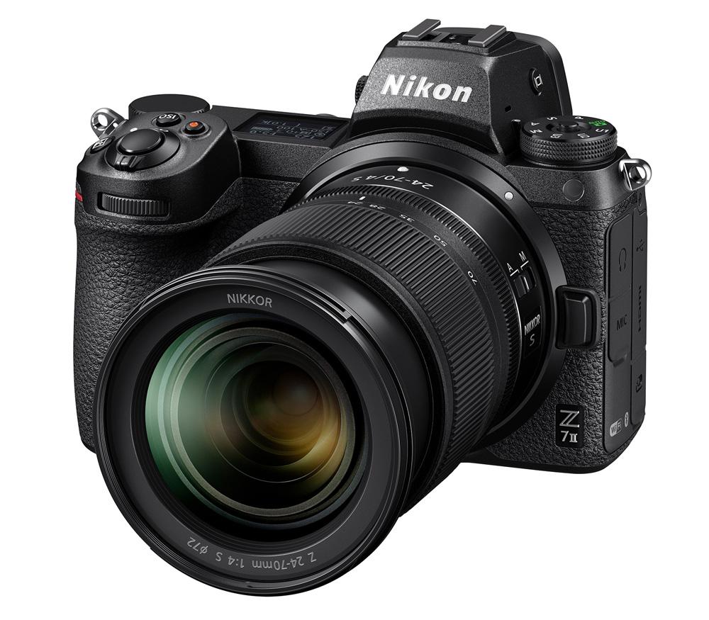 Беззеркальный фотоаппарат Nikon Z7 II Kit 24-70 f/4 S Z7 II Kit 24-70 f/4 S