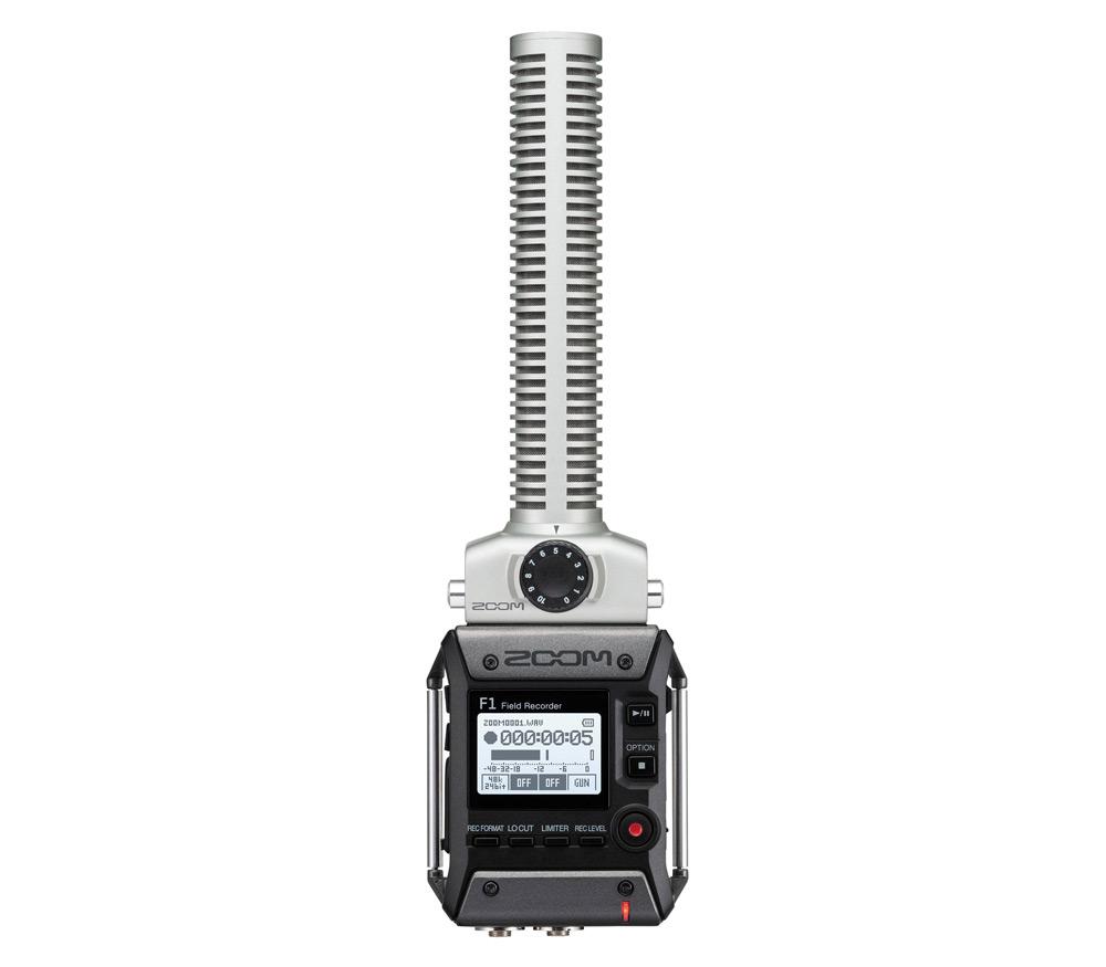 Портативный рекордер Zoom F1-SP с микрофоном-пушкой