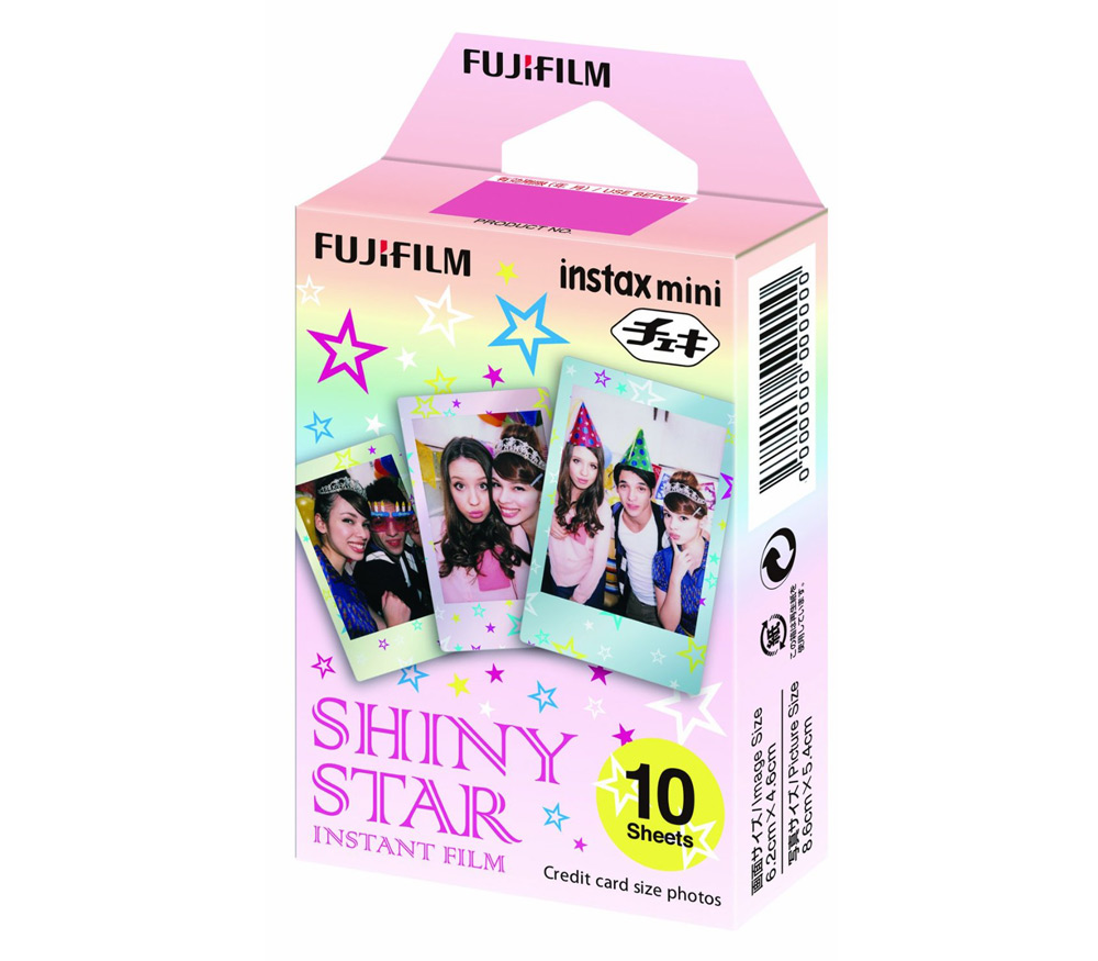 Картридж Fujifilm Instax Mini Shiny Star, 10 снимков