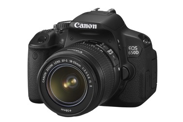 Зеркальный фотоаппарат CANON EOS 650D Kit EF-S 18-55 IS II + чехол Discovered