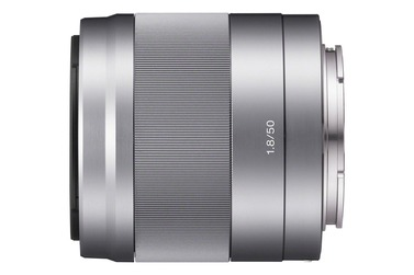 Объектив SONY E 50mm f/1.8 OSS (SEL-50F18) серебристый