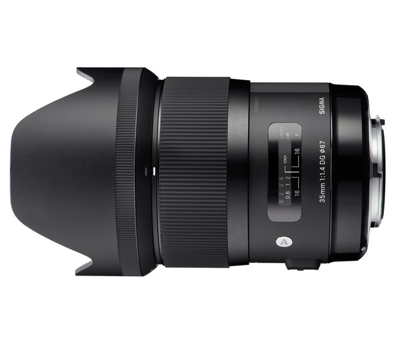 Объектив SIGMA 35mm f/1.4 DG HSM Art Canon фото