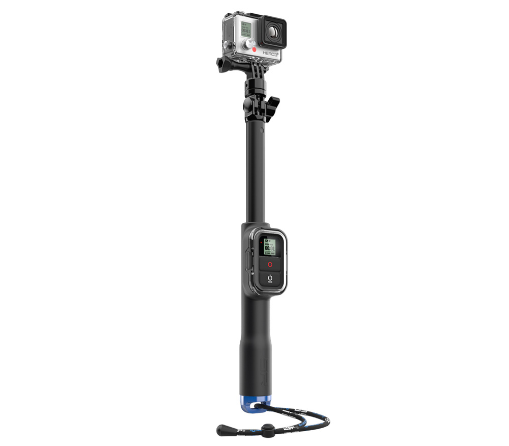 "Монопод для селфи SP Gadgets Pole 39"" с креплением для пульта ДУ, 98 см"