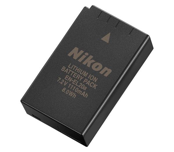Аккумулятор NIKON EN-EL20a фото