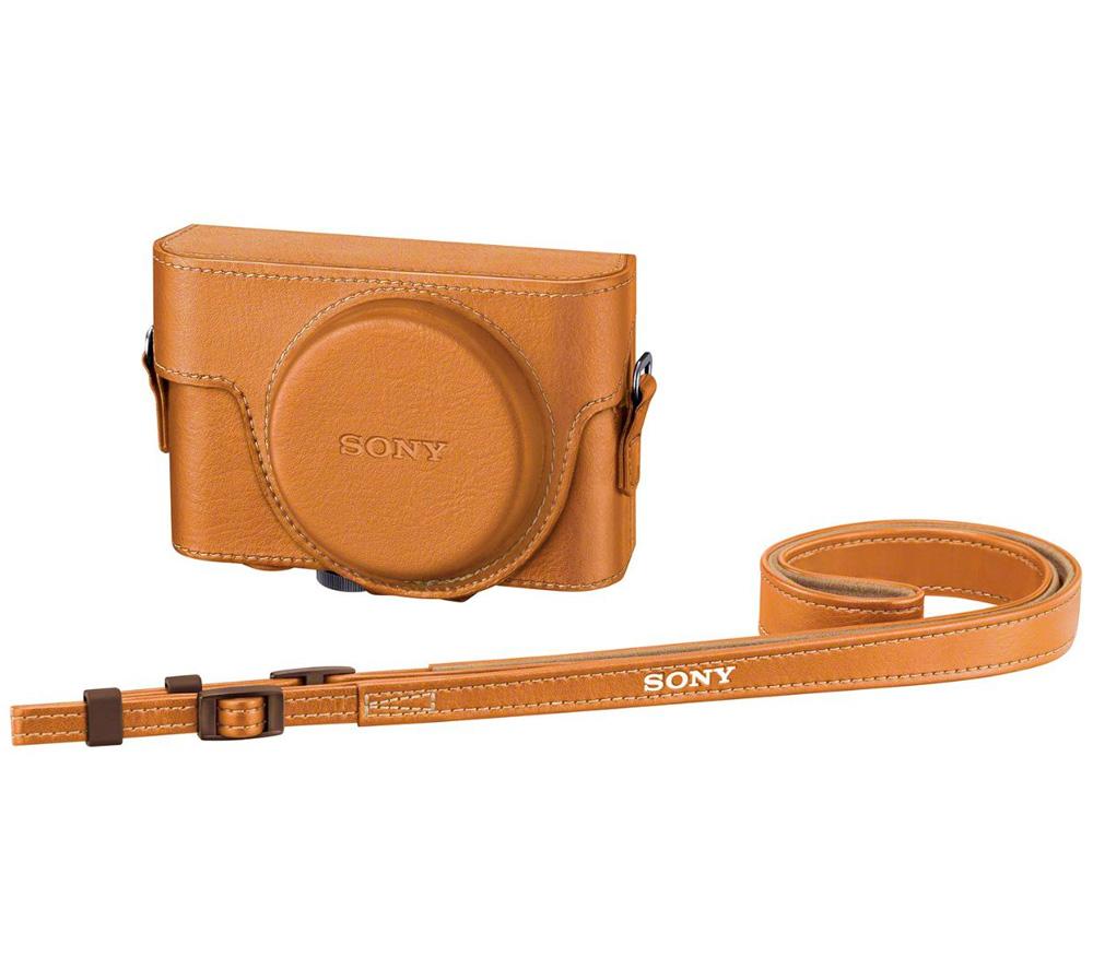 Чехол SONY LCJ-RXF бежевый для RX100, RX100M2, RX100M3, RX100M4 фото