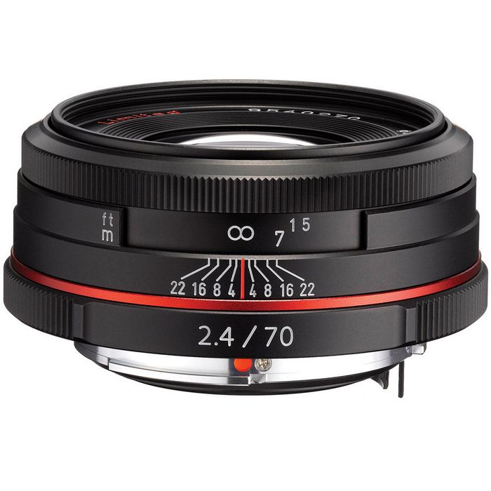 Объектив PENTAX DA 70mm f/2.4 Limited HD черный