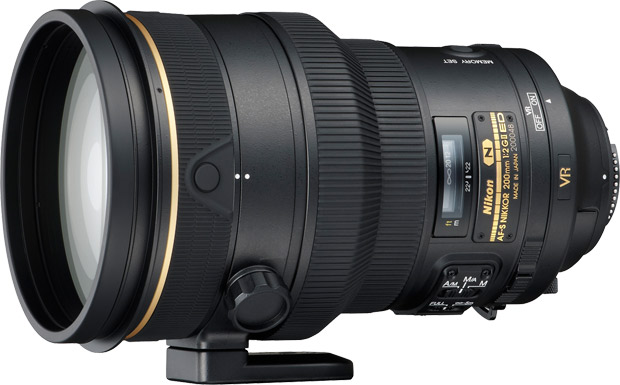 Объектив NIKON AF-S NIKKOR 200mm f/2.0G IF-ED VR II фото