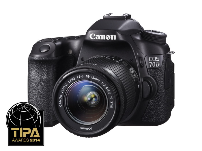 Зеркальный фотоаппарат CANON EOS 70D c 18-55 IS STM Kit