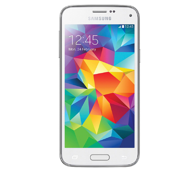 Телефон Samsung GALAXY S5 Mini DS белый (SM-G800H)