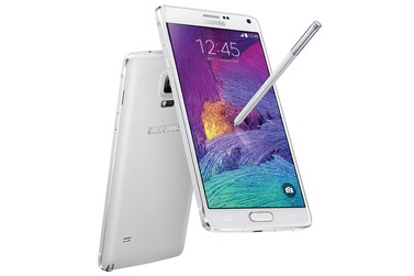 Телефон SAMSUNG GALAXY Note 4 32Gb белый (SM-N910C)