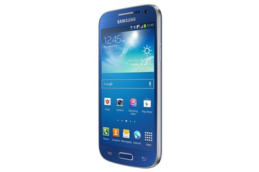 Телефон Samsung GALAXY S4 mini DUOS синий (GT-I9192)