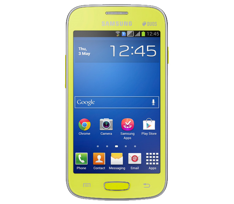 Телефон SAMSUNG GALAXY Star plus лайм (GT-S7262)